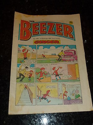 THE BEEZER Comic - Issue 1494 - Date 01/09/1984 - UK Paper Comic