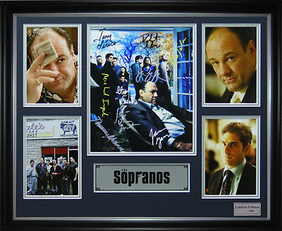 The Sopranos Signed Framed Memorabilia