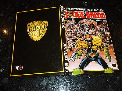 JUDGE DREDD Annual - 1983 - UK Fleetway Annual