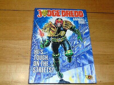 JUDGE DREDD Comic Annual - Year 1986 - UK Fleetway Annual