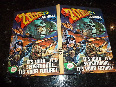 2000 AD Comic Annual - Date 1980 - UK Fleetway Annual