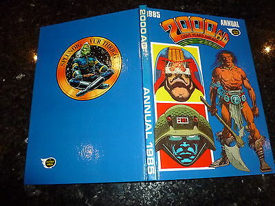 2000 AD UK Annual - 1985 - UK Fleetway Annual