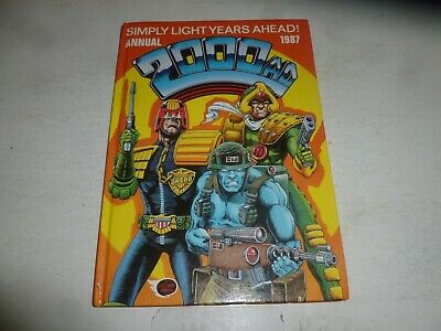 2000 AD UK Annual - 1987 - UK Fleetway Annual