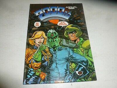2000 AD Comic Annual - Date 1988 - UK Fleetway Annual