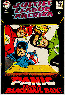 Justice League Of America   #62   Dc