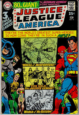 Justice League Of America   #58   Dc