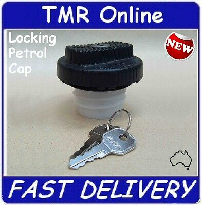 NEW LOCKING Fuel Cap, Petrol Cap, Ford, Holden, Others