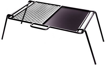 Oztrail Steel Flat Plate Bbq Cooker Grill Camping