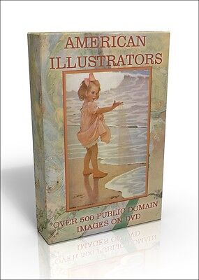 American Illustrators - 500 public domain images on DVD.  Jessie Willcox Smith!