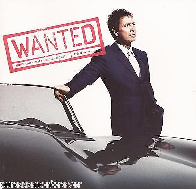 CLIFF RICHARD - Wanted (UK 13 Track CD Album)
