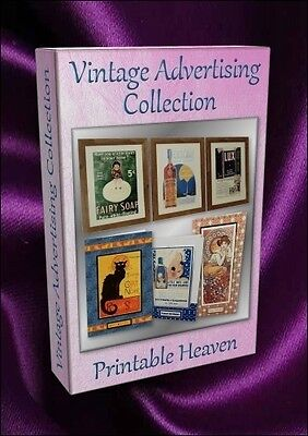 Card-making DVD - Vintage Advertising Collection