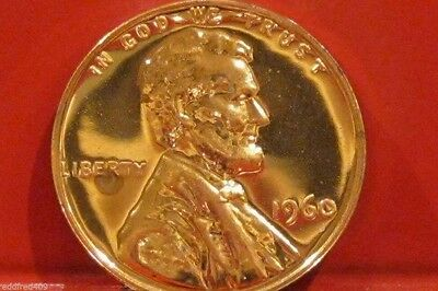 1960 Lincoln Cent  Proof Large Date