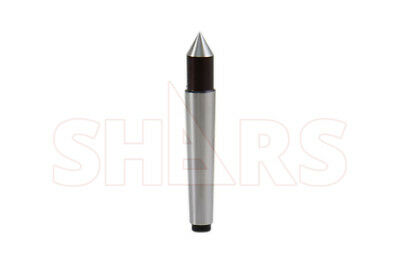 SHARS 1MT Steel Morse Taper Solid Dead Center NEW
