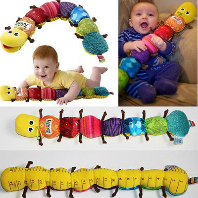 Lovely New Baby Toy Colorful Musical Inchworm Soft Developmental Baby Toy