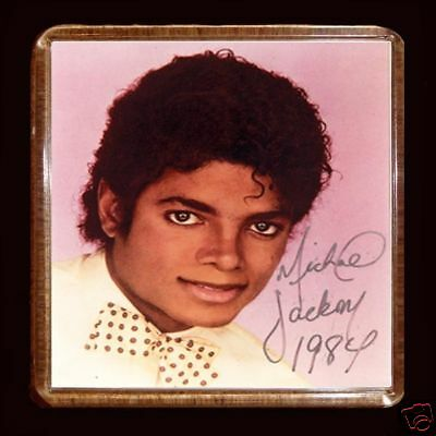 MICHAEL JACKSON 03  LARGE FRIDGE MAGNET 60mmX 60mm