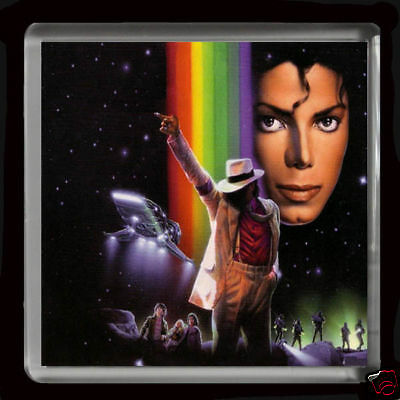 MICHAEL JACKSON   LARGE FRIDGE MAGNET 60mmX 60mm