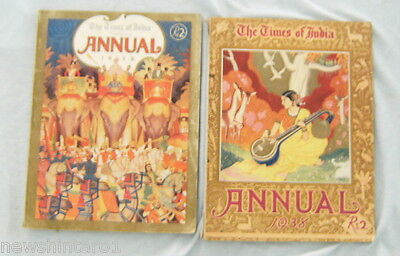 #t11.  The Times Of India  Annuals For 1938  & 1939