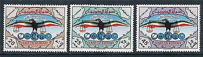 Kuwait 1966 National Day SG 307/9 MNH