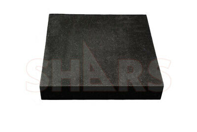"SHARS 18 x 12 x 3"" Grade B Granite Surface Plate No Ledge NEW .0001"" Save $90.11"