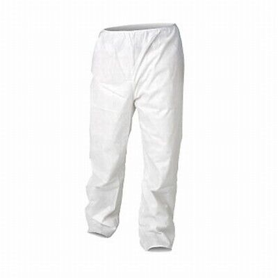 Kimberly-Clark 36222 KleenGuard A20 White Pants Medium Particle Protection QTY50