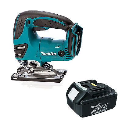 Makita 18V Lxt Bjv180 Bjv180Z Bjv180Rfe Jigsaw Blue And Bl1830 Battery