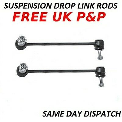 VW CADDY 2004- FRONT Anti-roll Bar Link Stabiliser Drop Link Rods Sway Bar x 2