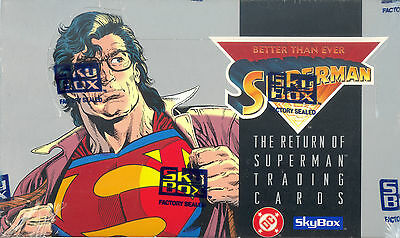 SUPERMAN THE RETURN OF 1993 SKYBOX FACTORY SEALED TRADING CARD BOX
