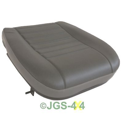 Land Rover Defender Seat Base Cushion Front Outer Vinyl Twill AWR5700RPI