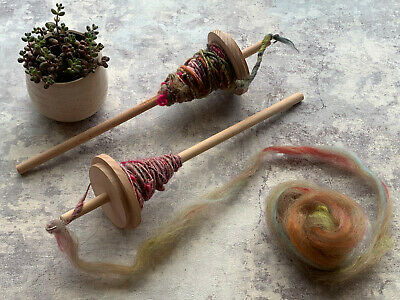 2 x Drop Spinning Spindle -  Hand Spinning