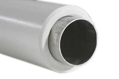 Vinyl Photography Backdrop Roll 6m x 3m White 500gsm with Aluminium Roller Bar