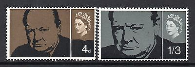 GB = 1965 `Churchill` Set. MNH. SG661/662.