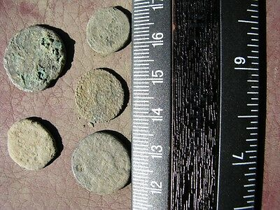 5 Ancient Roman coins + 4 oz. Mint State Restoration Coin Cleaner M182