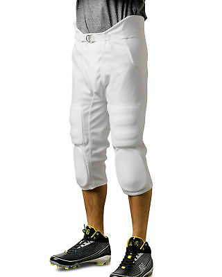 A4 Youth Polyester Elastic Waist Flyless Integrated Football Casual Pant. NB6180