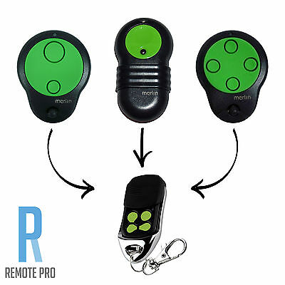 Merlin M842/M832/ M844 Compatible Garage Door Remote Control Prolift 230T/430R