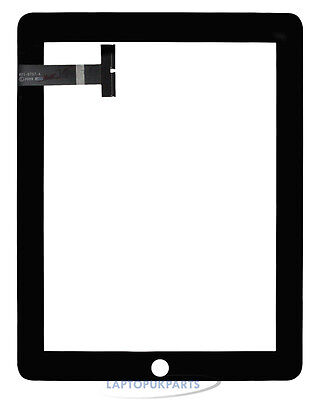 Black Replacement Digitizer Touch Screen Glass Display For Ipad 1
