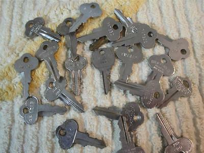 Coca-Cola 1950's 60's Vending Machine Keys--Chicago Lock Co.