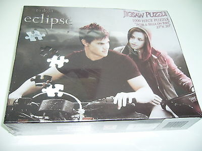"Puzzle 1000 Piezas The Twilight Saga . Eclipse. Neca ."" Jacob & Bella On Bike """