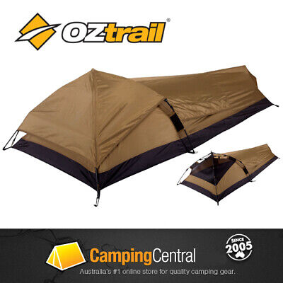 Oztrail Swift Pitch Bivy Instant Quick Light Compact Hiking Tent Swag Pop Up