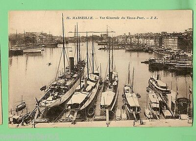 #c.  Shipping  Postcard -  Marseille Harbour