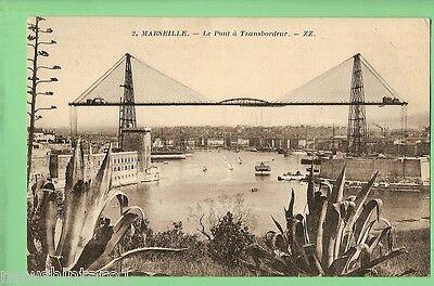 #c.  Postcard - Marseille Transporter Bridge