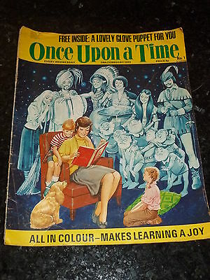 ONCE UPON A TIME Comic - No 1 - Date 24/02/1973 - UK Paper comic