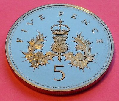 Royal Mint Five Pence 5P Brilliant Uncirculated Coin