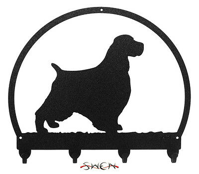 English Springer Spaniel Metal Key or Leash Hanger *NEW*
