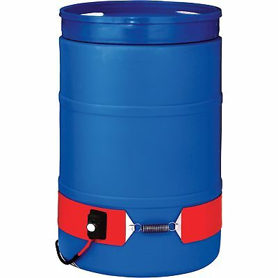 BriskHeat Plastic Drum Heater -55-Gallon 300 Watt 120 Volt #DPCS15