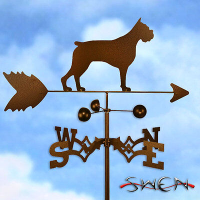 Hand Made Boxer Dog Weathervane *NEW*