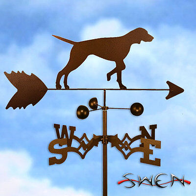 Hand Made English Pointer Dog Weathervane *NEW*