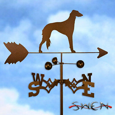 Hand Made Saluki Dog Weathervane *NEW*