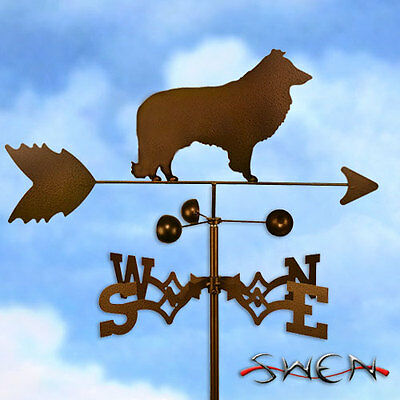 Hand Made Sheltie Dog Weathervane *NEW*