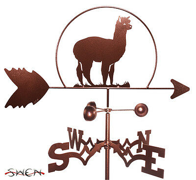 Hand Made Alpaca Llama Weathervane *NEW*
