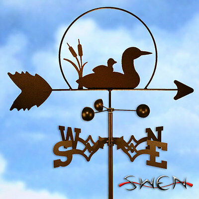 Hand Made Loon Bird Weathervane *NEW*